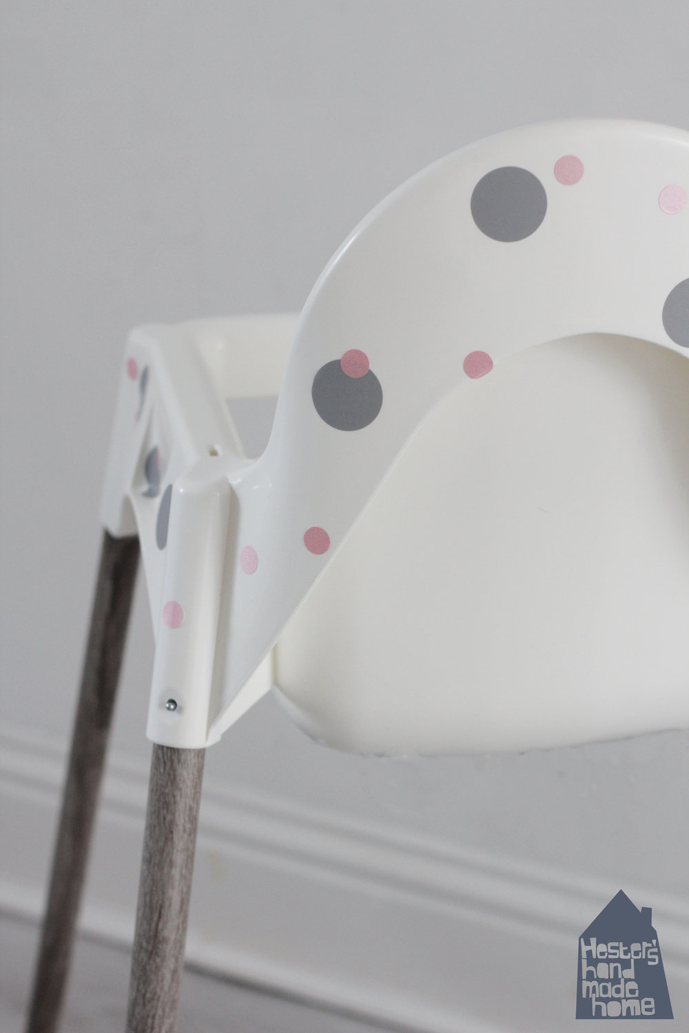 Ikea highchair hack by www.hestershandmadehome.com