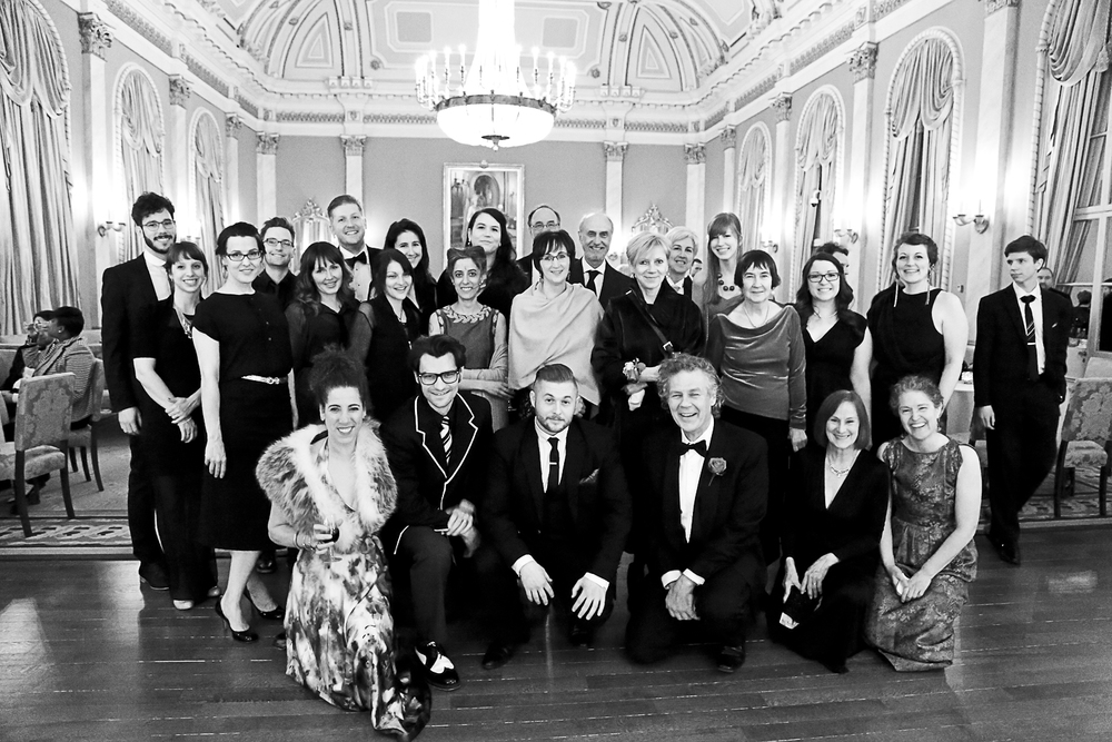 uOttawa Department of Visual Arts Faculty, Alumni, Graduates, Students, and friends including 2014 Governor General Awards Laureates Carol Wainio and Max Dean