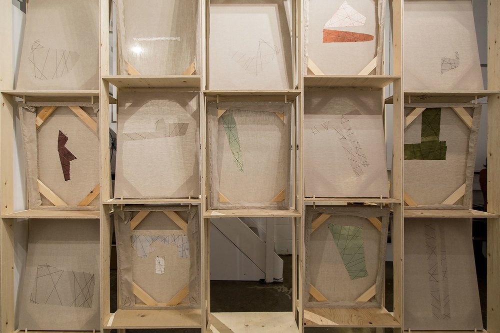 Jessica Bell,  P.S. , Installation View, Central Art Garage, Image Credit: Chris Snow
