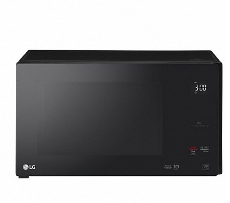 The one instance in which white is not the best options: Microwaves start to look filthy fast. This matte black option is the best way to keep the function of the microwave, without the staining that occurs.