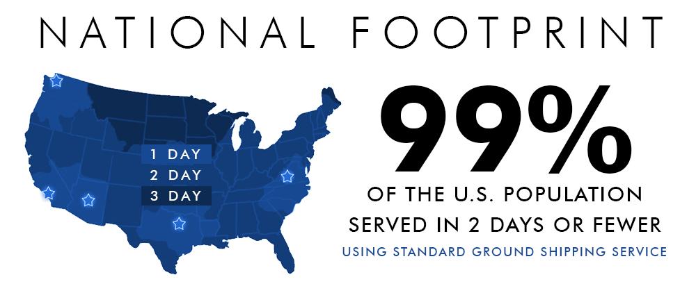 MSS National Footprint