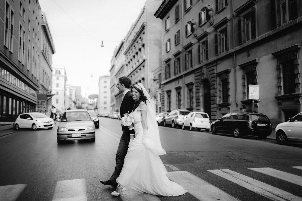 E+A<hr>Wedding in Rome