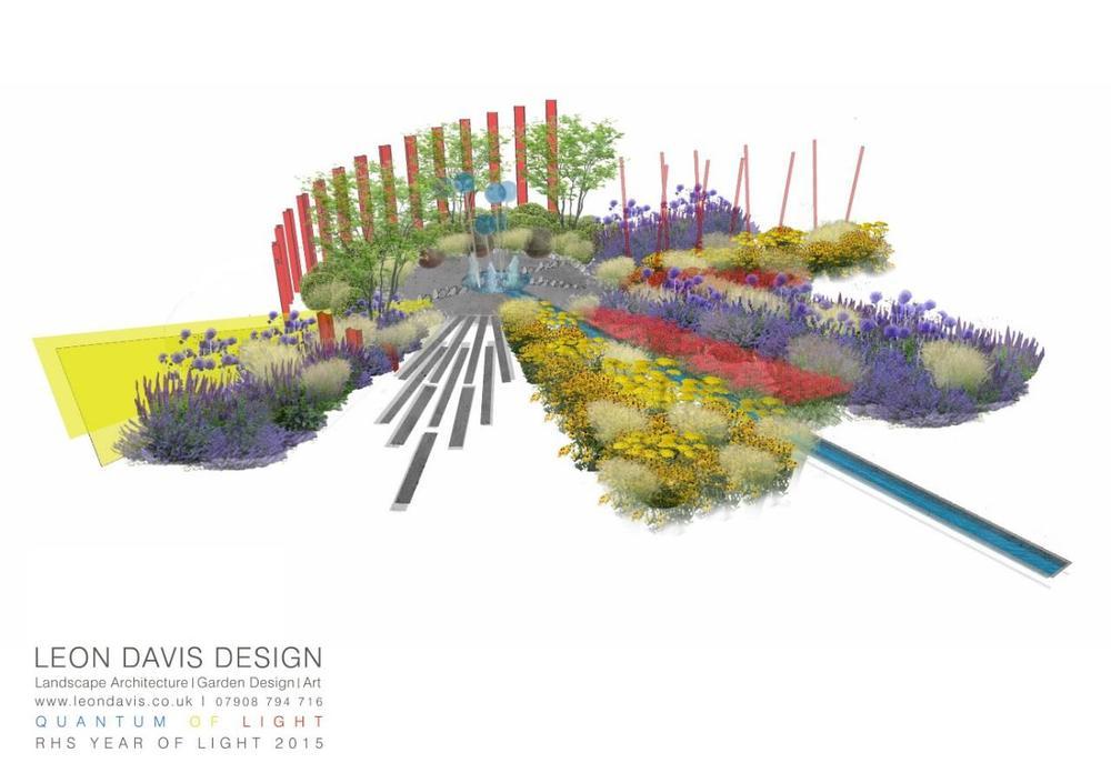 leon davis RHS tatton show garden 2015 design