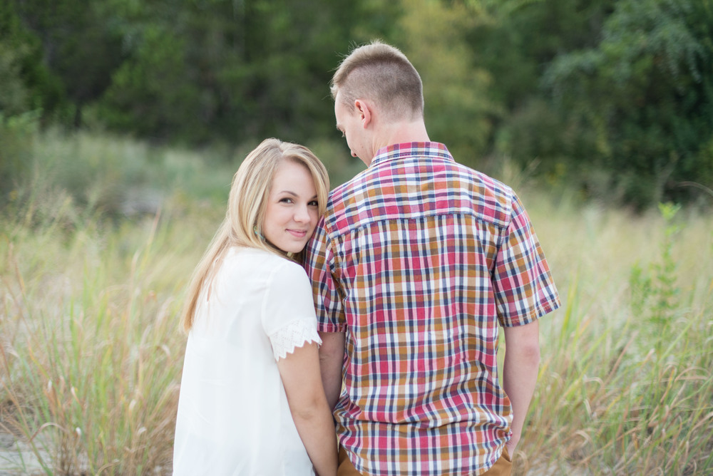 bull creek park engagement session