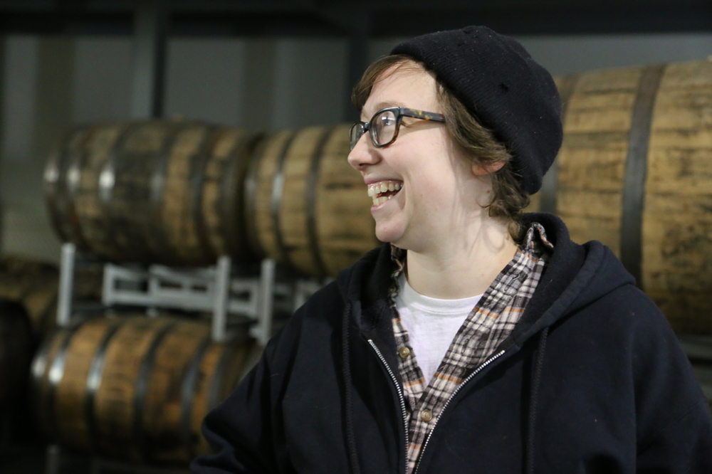Privateer Distiller Maggie Campbell.