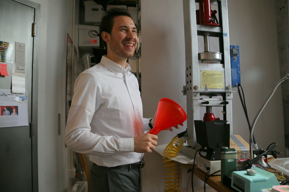 Industrial Designer Ted Ullrich.