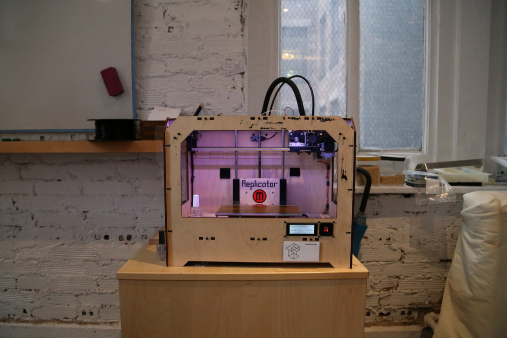 The MakerBot at Tomorrow Lab