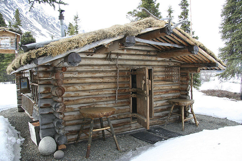 Richard Proenneke's cabin.