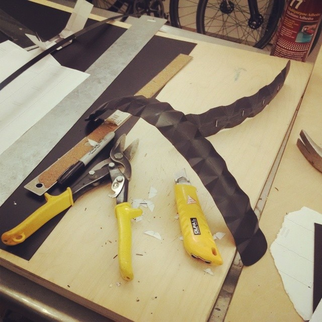 Fender work. Image via Instagram.com/pensanyc