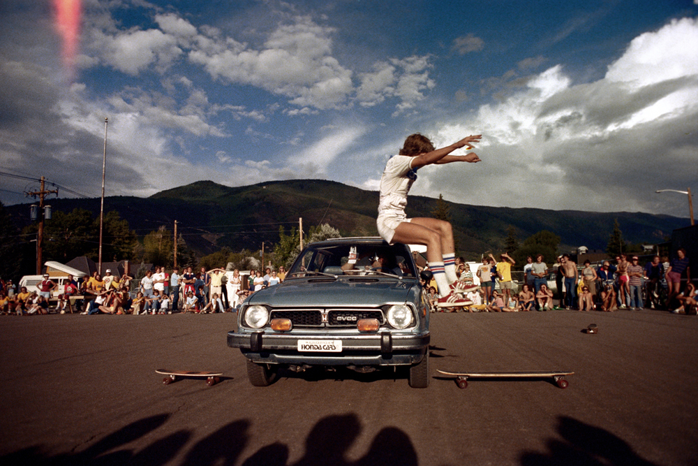 Skateboarding Competition Aspen, Colorado. 1977