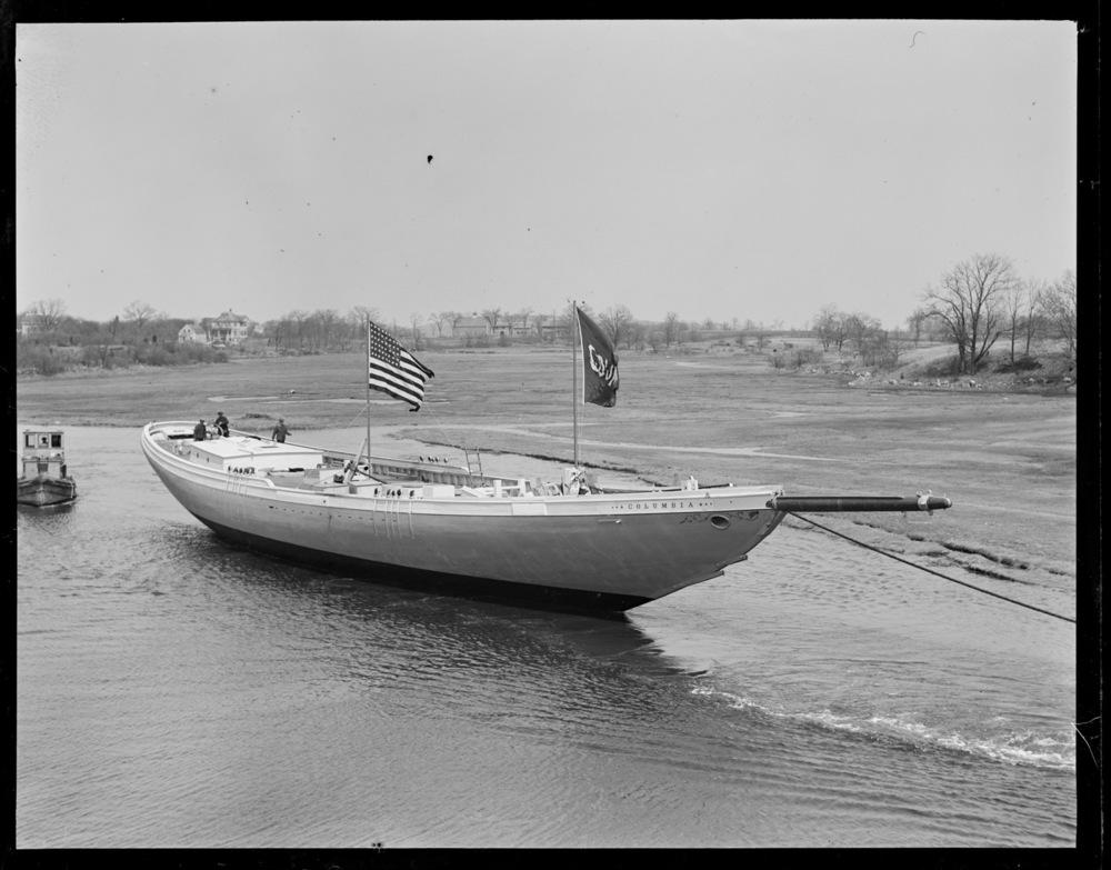 The original Columbia post-launch in Essex 1923.