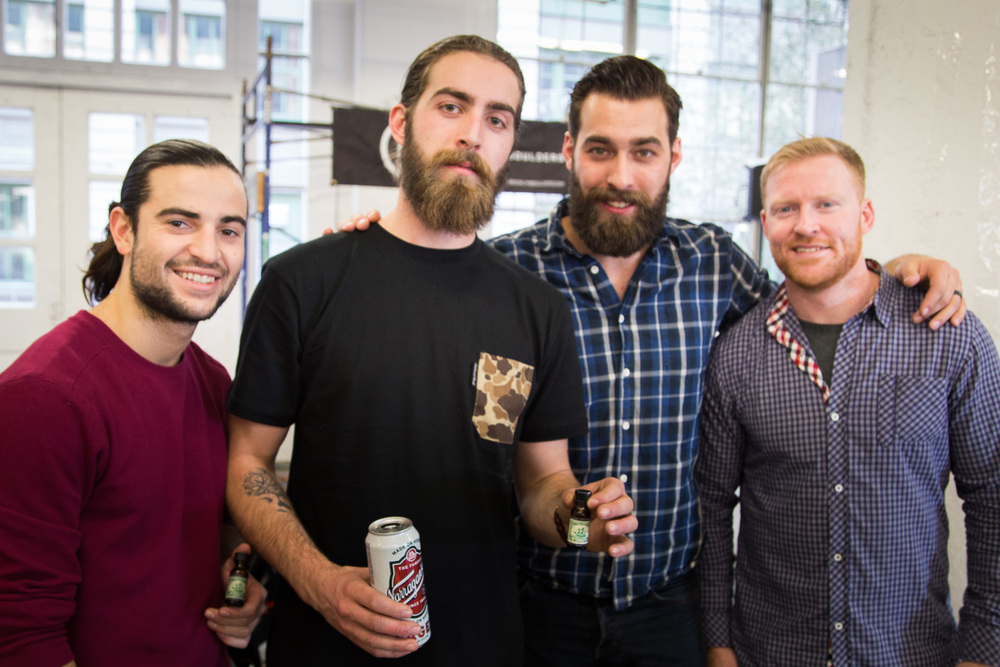 The guys of Brothers Artisan Oil. Boston represent.