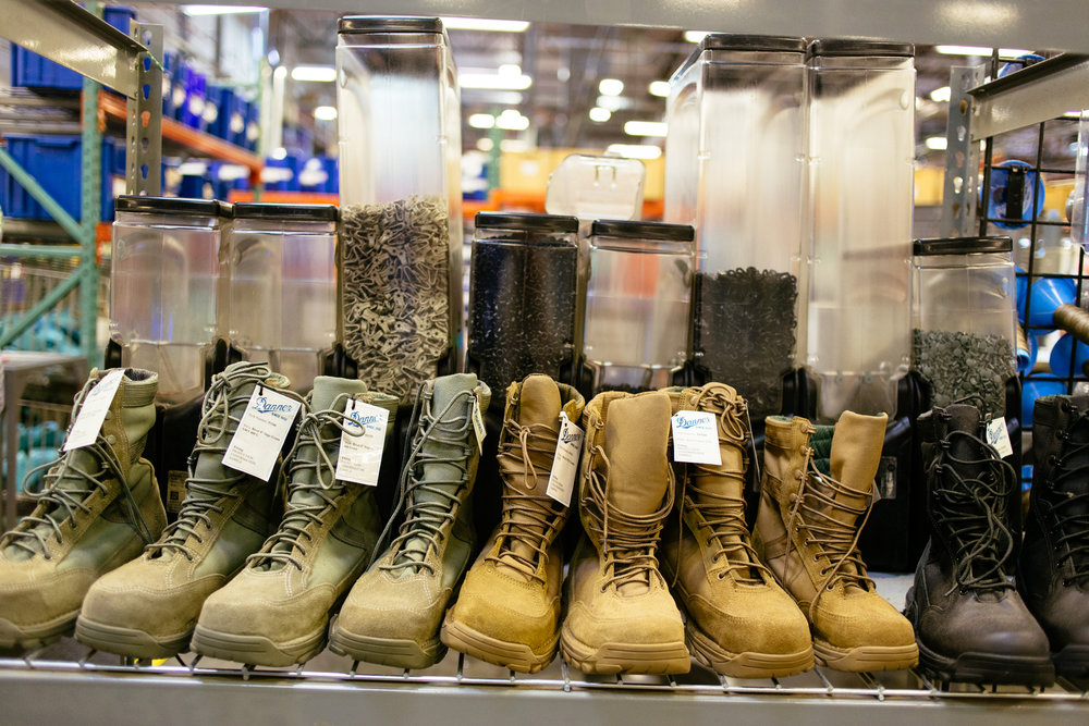 Inside the Danner Factory — The Hand & Eye