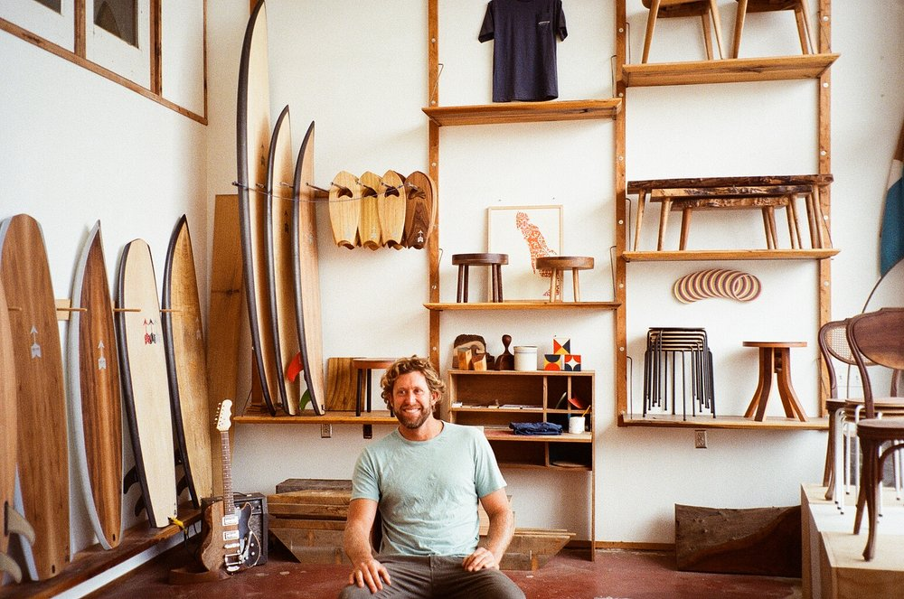 Behind the Scene: Hess Surfboards via West is Dead.