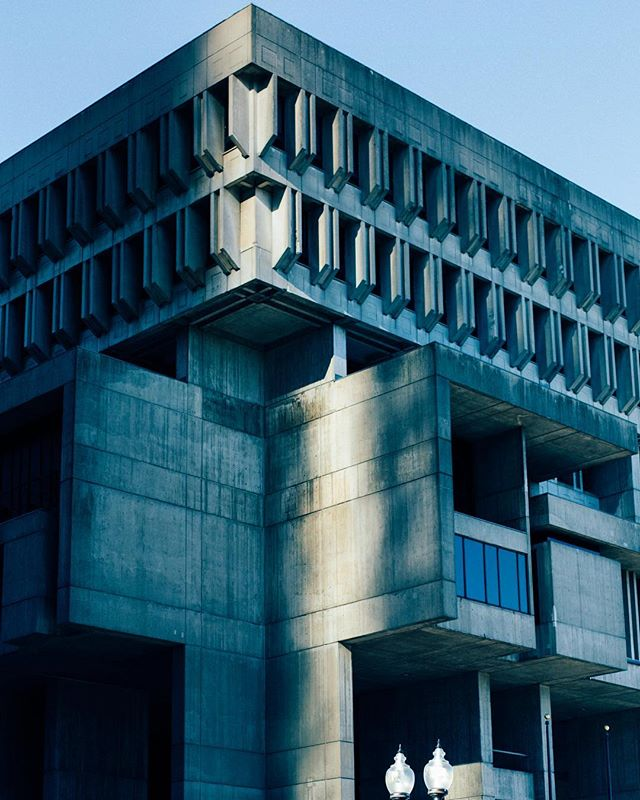Brutalist Boston.