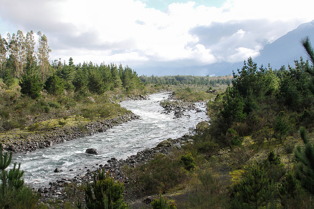 Rio Turbio in Pucón, Chile.