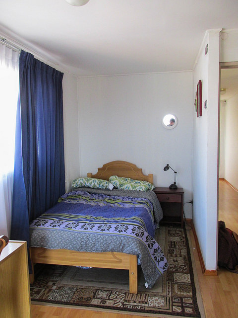 My bedroom in Chile.