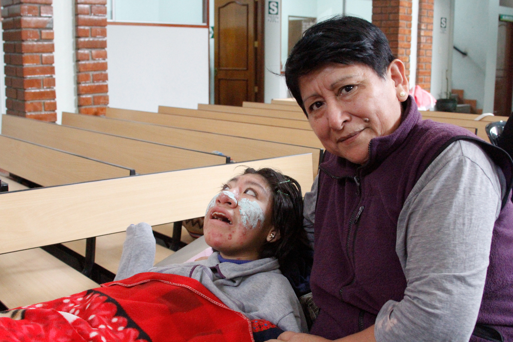Karina and her daughter Katryn, she was the funniest Peruvian I met. I got to know them more and they shared their personal story with me.