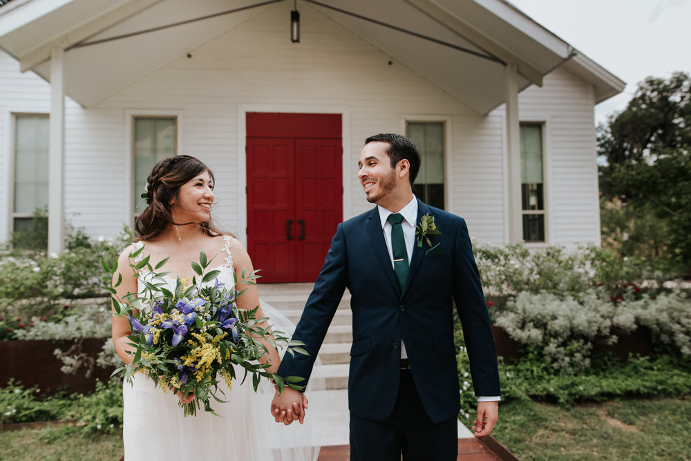 a newlywed - I married my high school sweetheart in the cutest chapel after her proposed on a mountain (It's too good to be true but it is!)