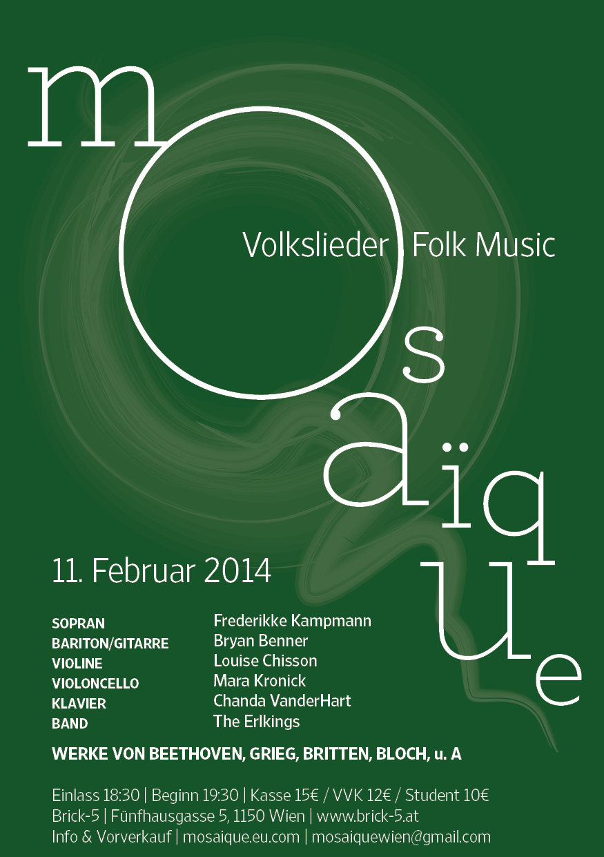 Mosaïque Volkslieder & Folk Music, 11 February 2014
