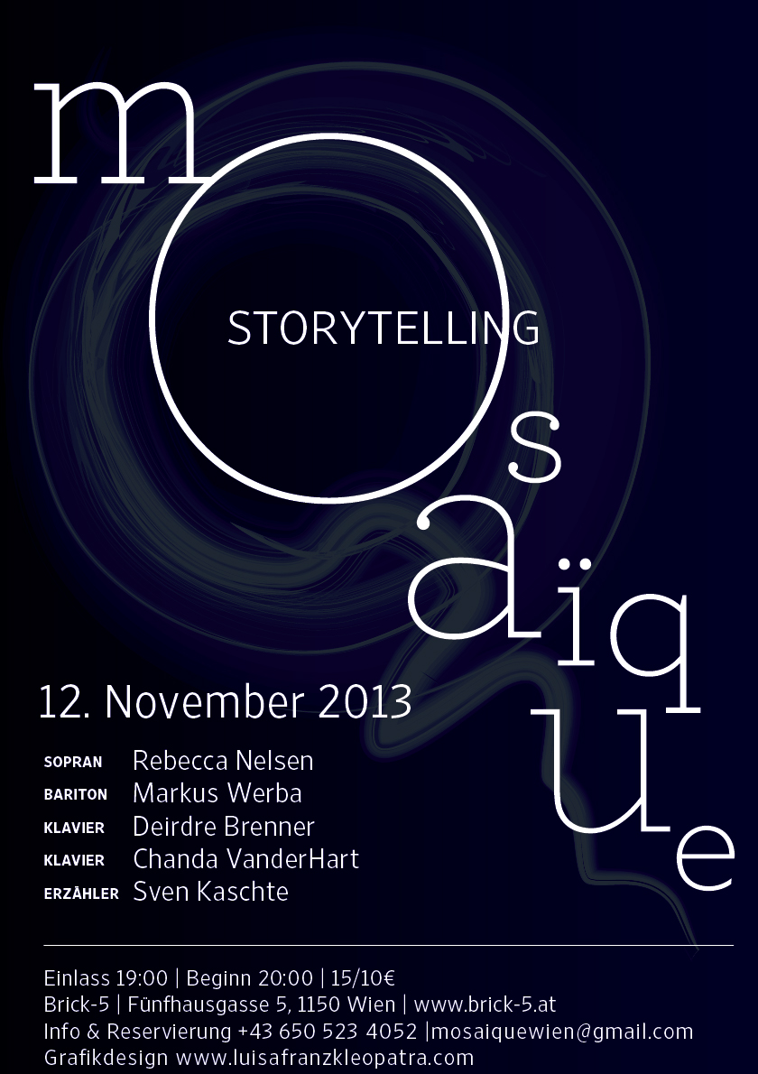 Mosaïque Storytelling, 12 November 2013