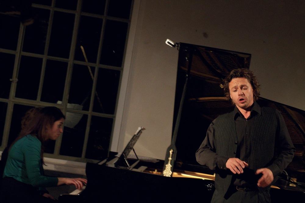 Markus Werba and Deirdre Brenner