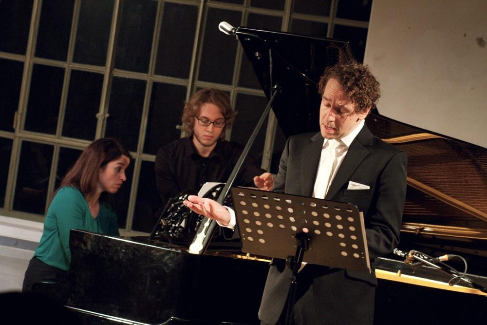 Deirdre Brenner and Sven Kaschte