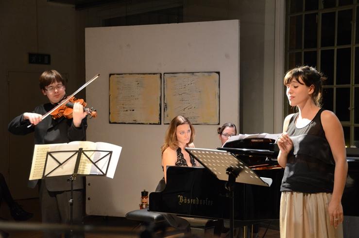 Benjamin Marquise Gilmore, Chanda VanderHart and Juliette de Banes Gardonne