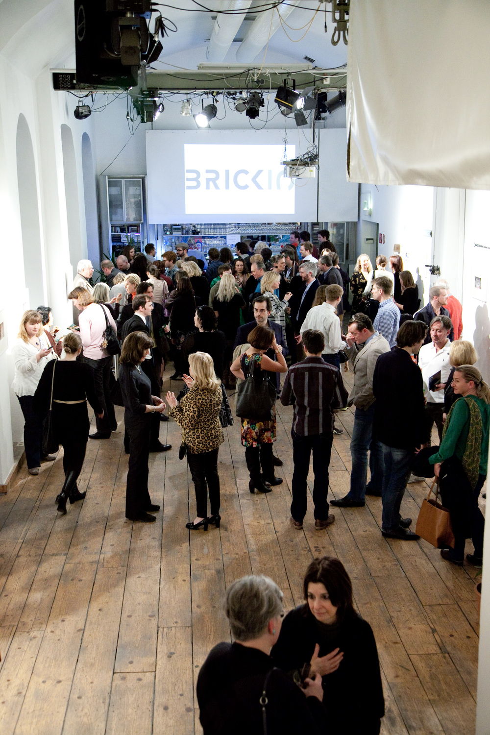 Bar scene at Brick-5, 2014