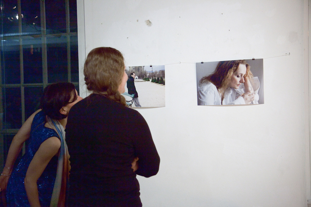 Julia Koci and Christina Parsons with photos by Lena Kern