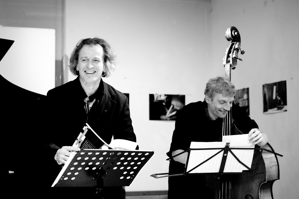 Huub Claessens, Baritone and Thomas Stempkowski, Double Bass