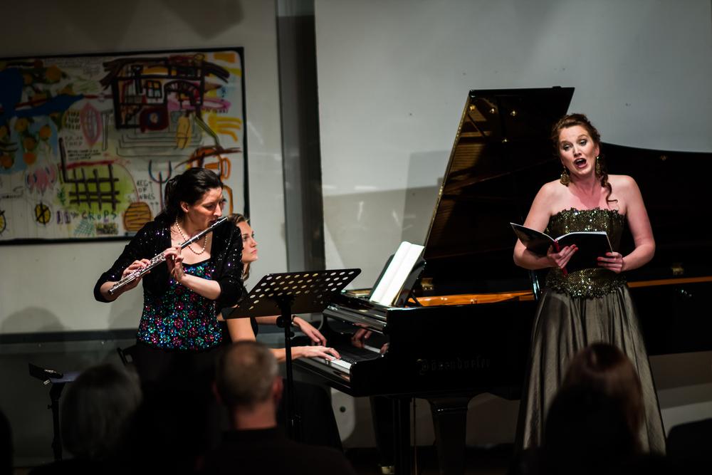 Ulrike Anton, Chanda VanderHart and Jolene McCleland