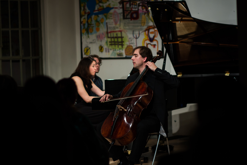 Deirdre Brenner, piano and Jan Ryska, cello