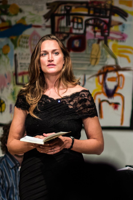 Chanda VanderHart introduces program