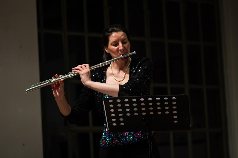 Ulrike Anton, flute