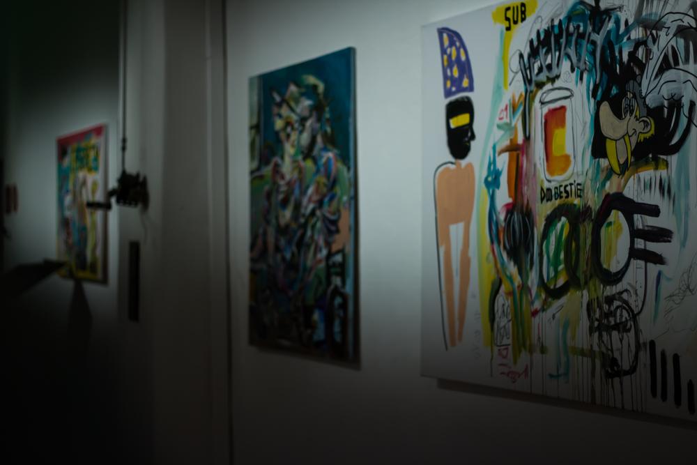 Joey Davis exhibit at Brick-5