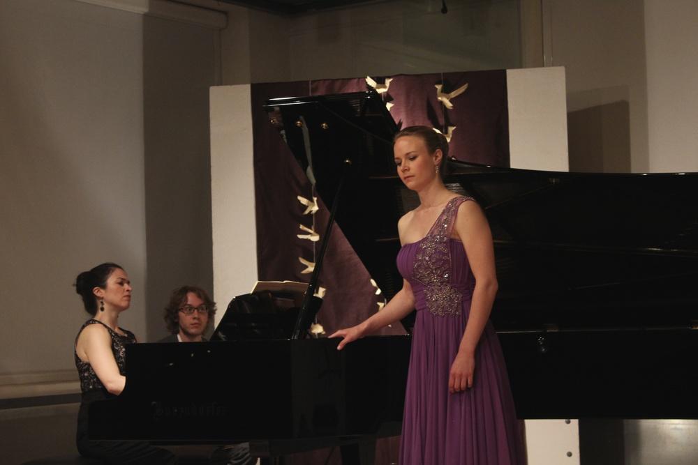 Deirdre Brenner, piano and Mara Mastalir, soprano