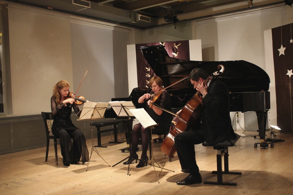 Maighréad McCrann, Gertrude Rossbacher and Georgy Goryunov perform Schnittke