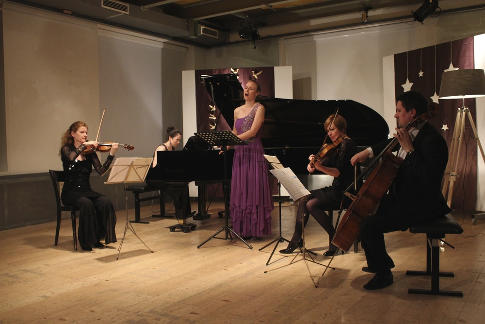 Maighréad McCrann, Deirdre Brenner, Mara Mastalir, Gertrude Rossbacher and Georgy Goryunov