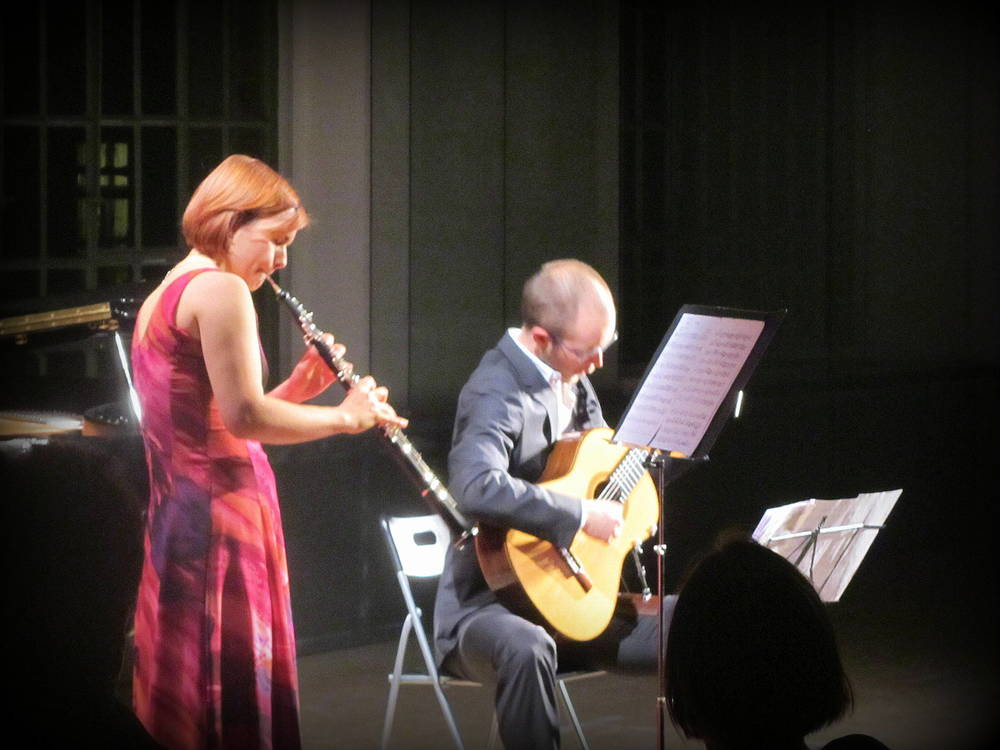 Andrea Dujak and Jonas Skielboe