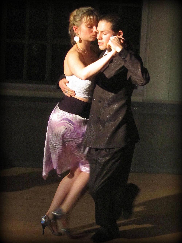Ludmila Srnková and Pablo Fernández dance tango