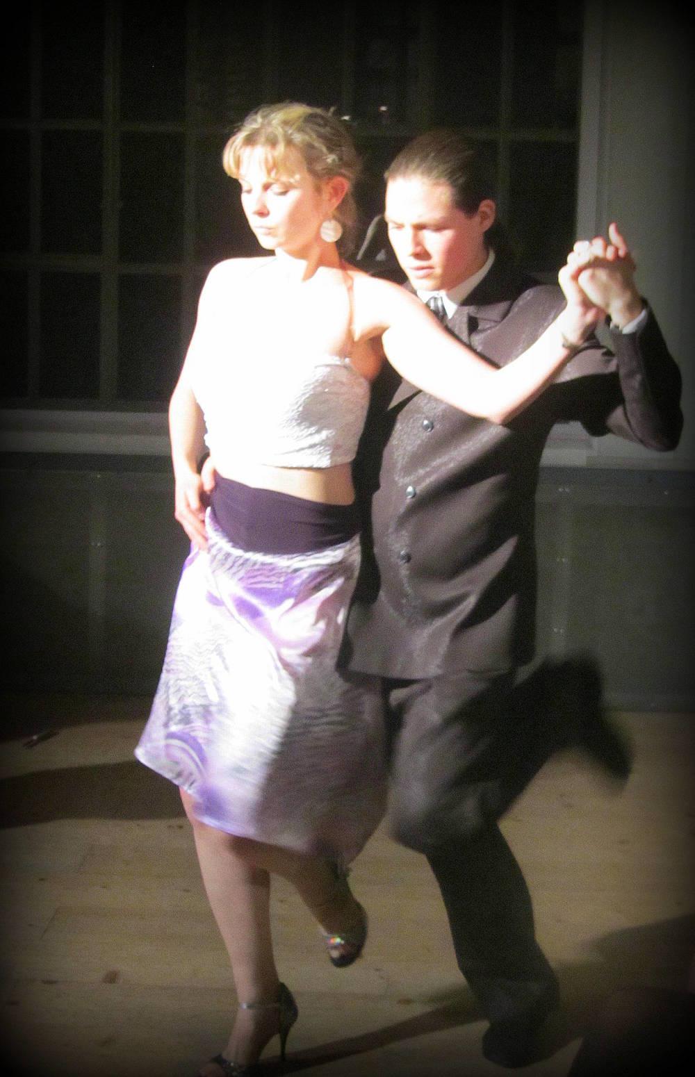 Ludmila Srnková and Pablo Fernánde dancez