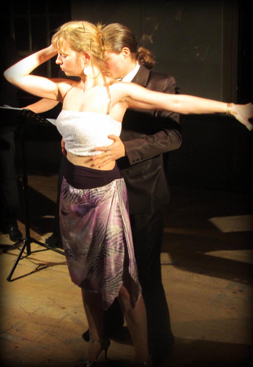 Ludmila Srnková and Pablo Fernández