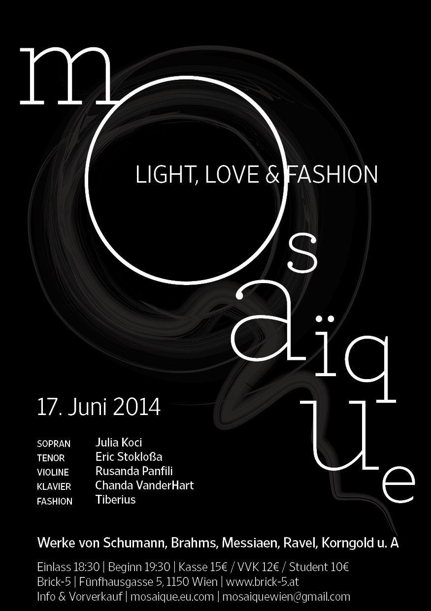 Mosaïque Light, Love and Fashion, 17 June 2014