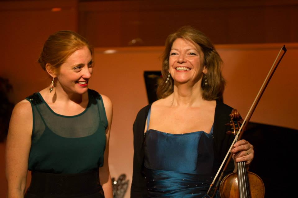 Soprano Layla Claire and Violinist Rita Manning