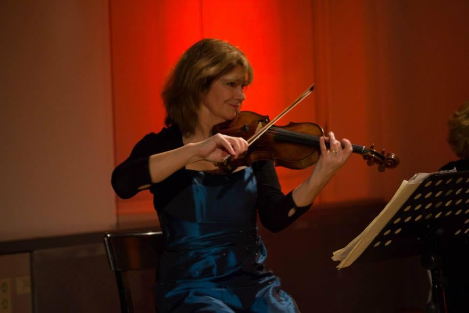 Violinist Rita Manning