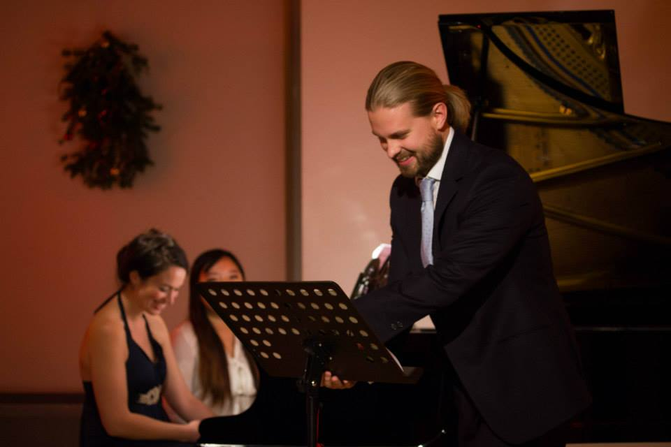 Pianist Deirdre Brenner and Baritone John Chest