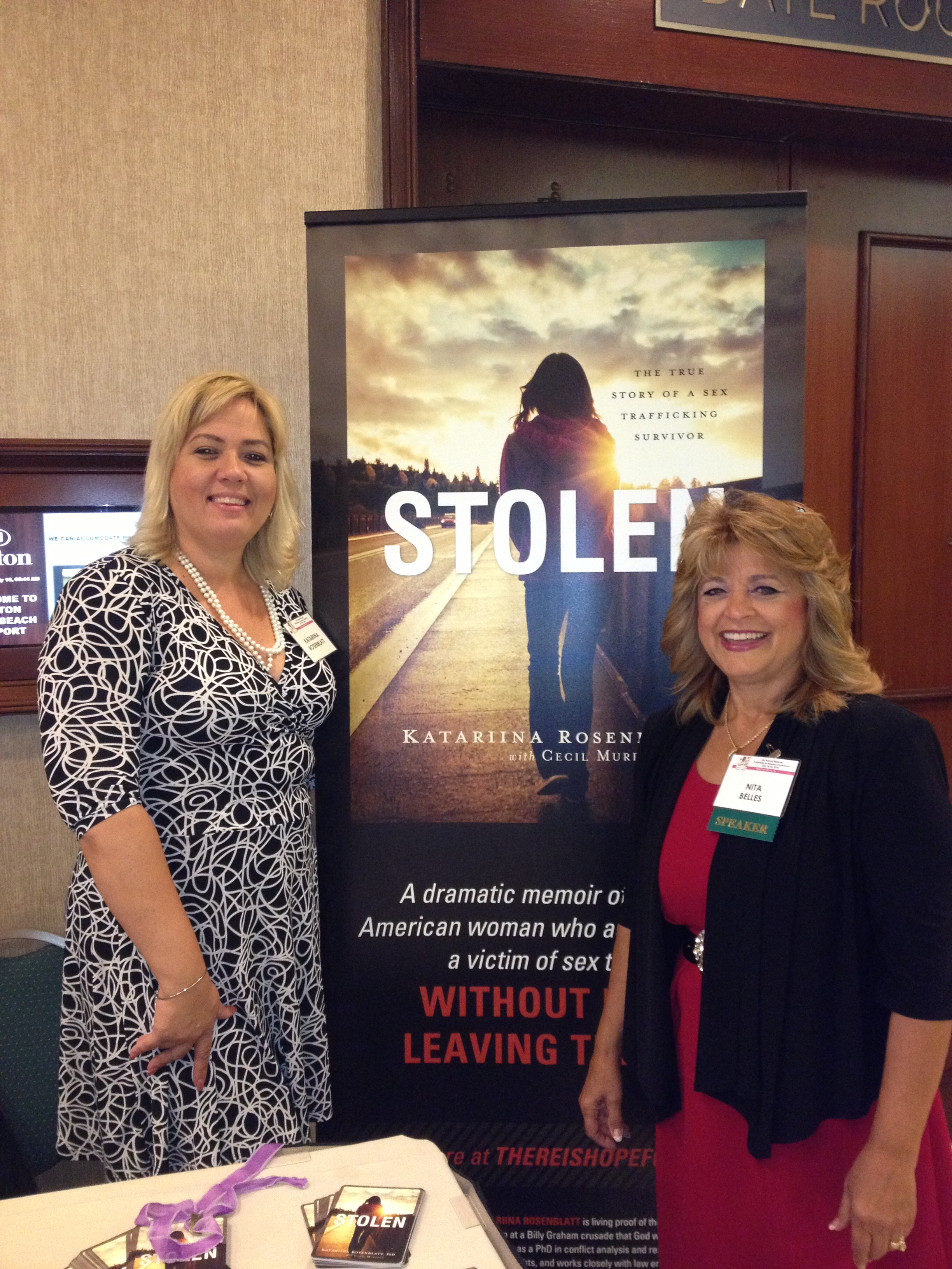 Survivor leader/Author and Practitioner Dr. Rosenblatt and Author and Advocate Nita Belles
