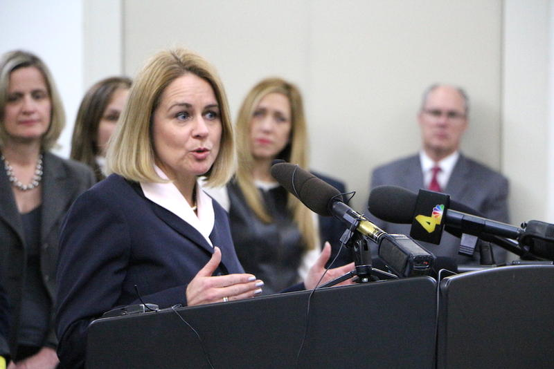 Assistant District Attorney Tammy Meade, who runs the department's trafficking prosecution unit, is spearheading the Cherished H.E.A.R.T.S. court. WPLN