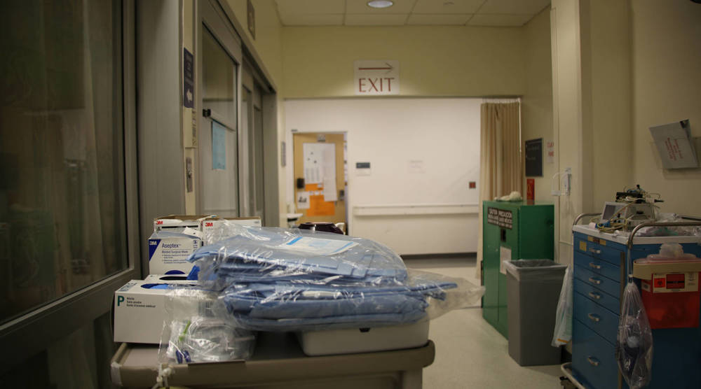 A hallway in Brigham and Women's Hospital in Boston.-Courtesy: Michelle Cerulli
